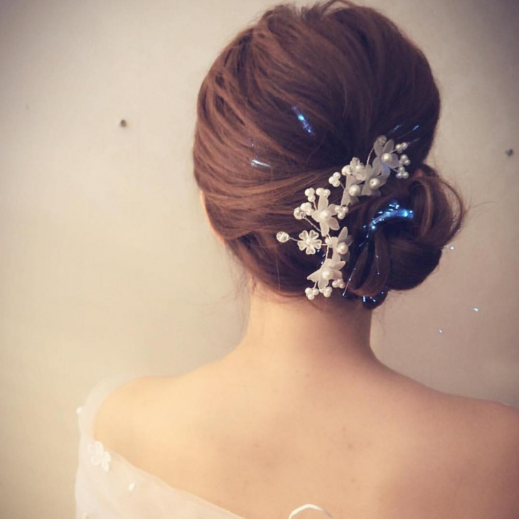 short wedding hairstyles ideas