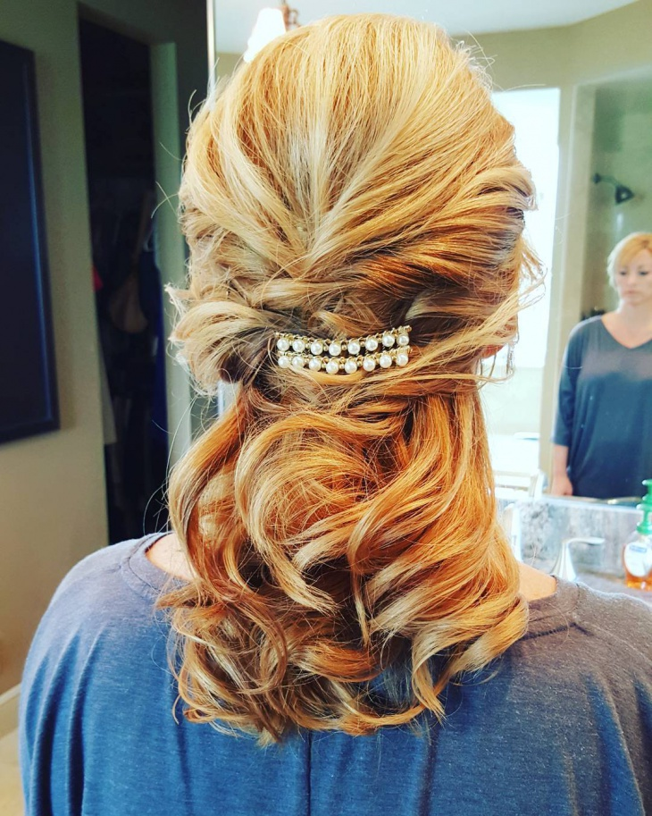 short wedding hair