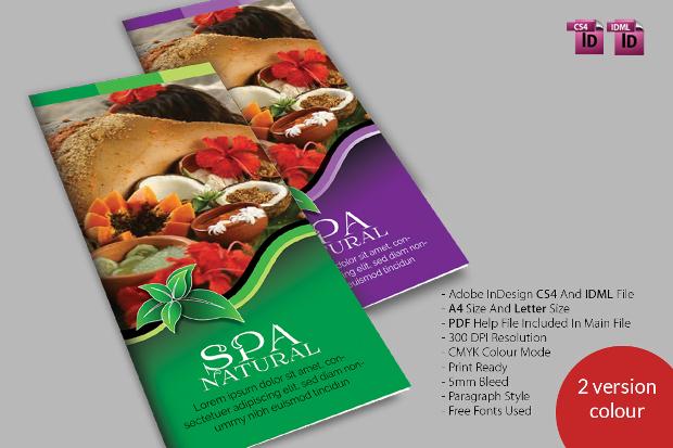 Spa Natural 3fold Brochures