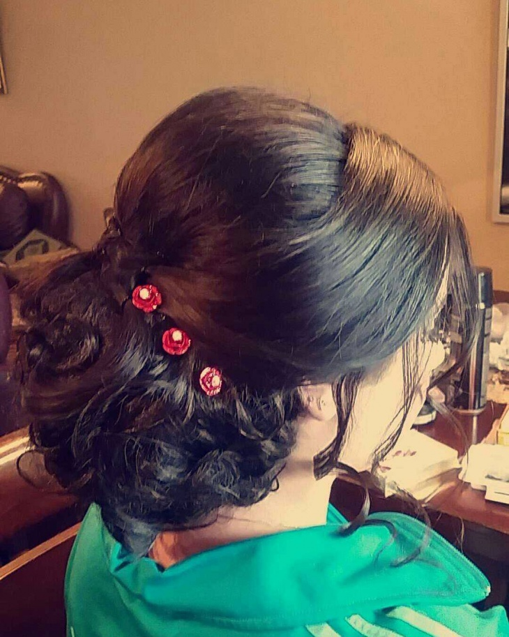 Pretty Wedding Hairstyle Design