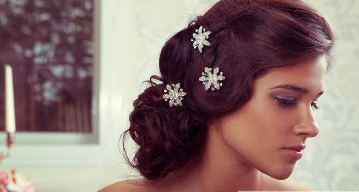 Fabulous Short Wedding Hairstyle