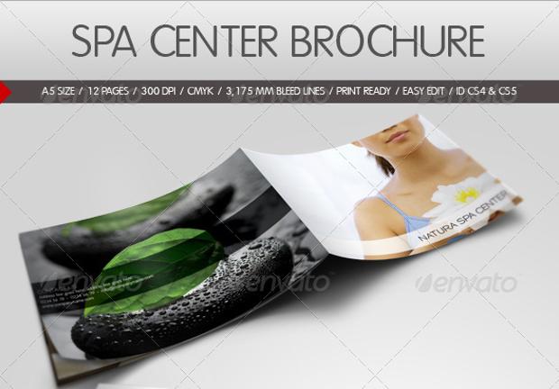 Spa Center Brochure Design