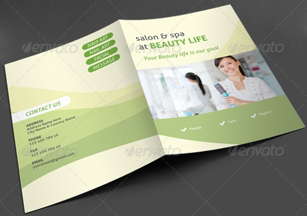 Spa Brochure Design Psd Download  Design Trends  Premium Psd