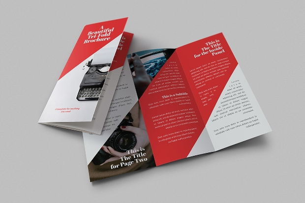 beautiful tri fold brochures