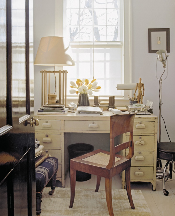 cool shabby chic home office decor | 21+ Shabby Chic Home Office Designs, Decorating Ideas ...