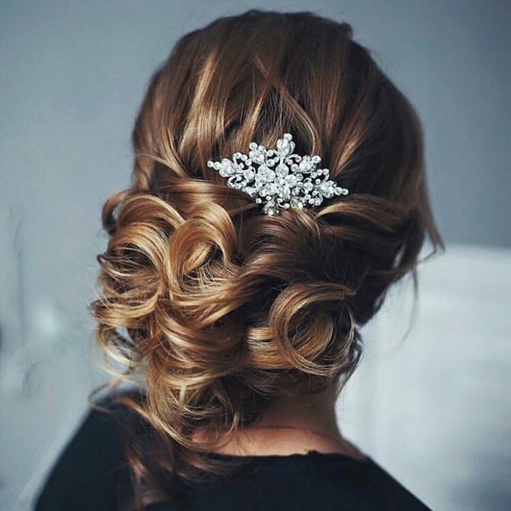 Creative Wedding Hairstyle