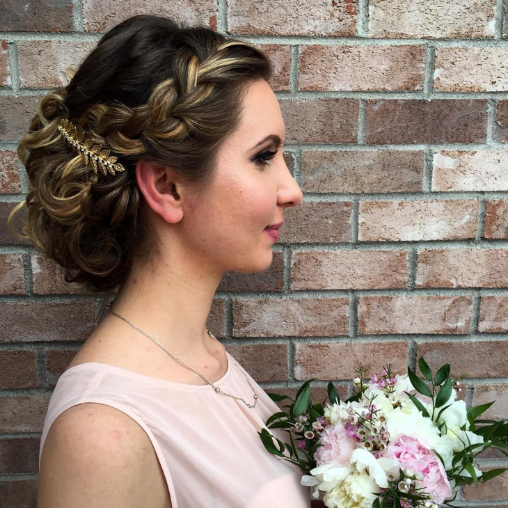 Simple Wedding Side Haircut Ideas