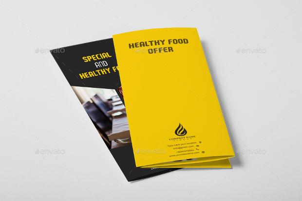 Modern Restuarant Tri Fold Brochure