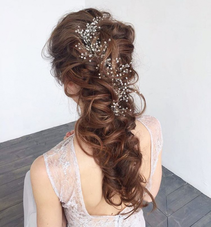 Decorative Wedding Hairstyle