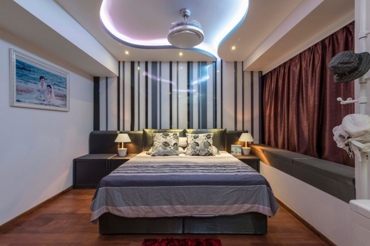 beautiful futuristic bedroom design idea
