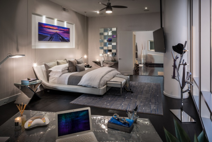 Unique Futuristic Bedroom Design