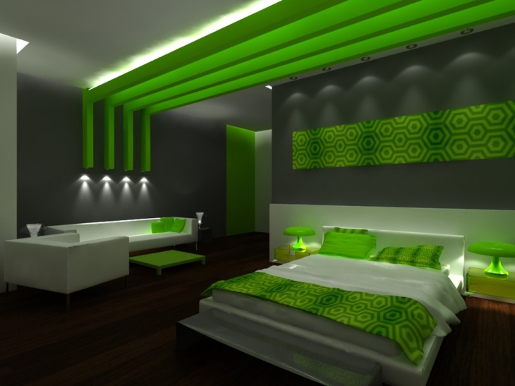 Colorful Bedroom Design Idea