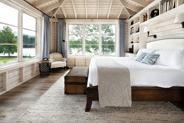 Rustic Bedroom Design Idea for Cottage