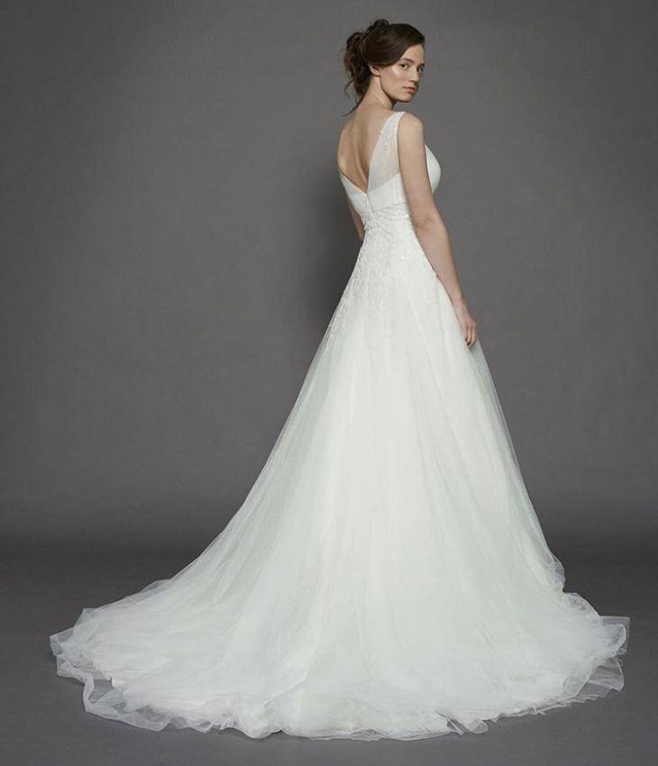 vintage wedding dress design