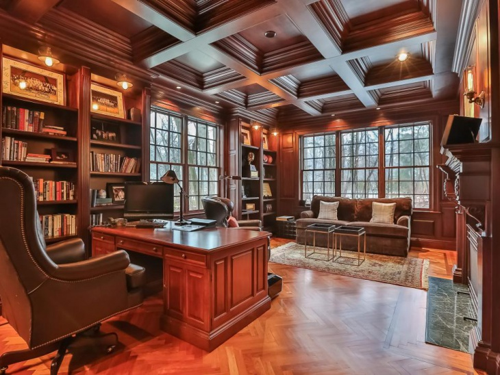 Luxury Home Office Design fine home office furniture fine home office furniture luxury home office design luxury home designs Office With Vintage Look