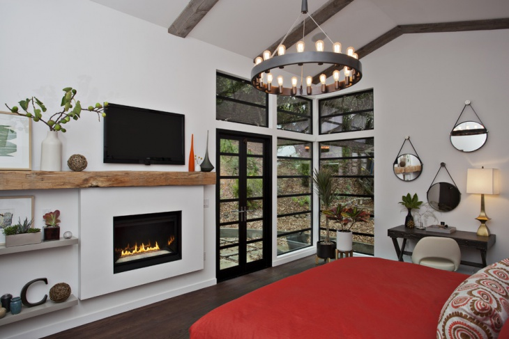 Unique Cottage Bedroom Design Idea
