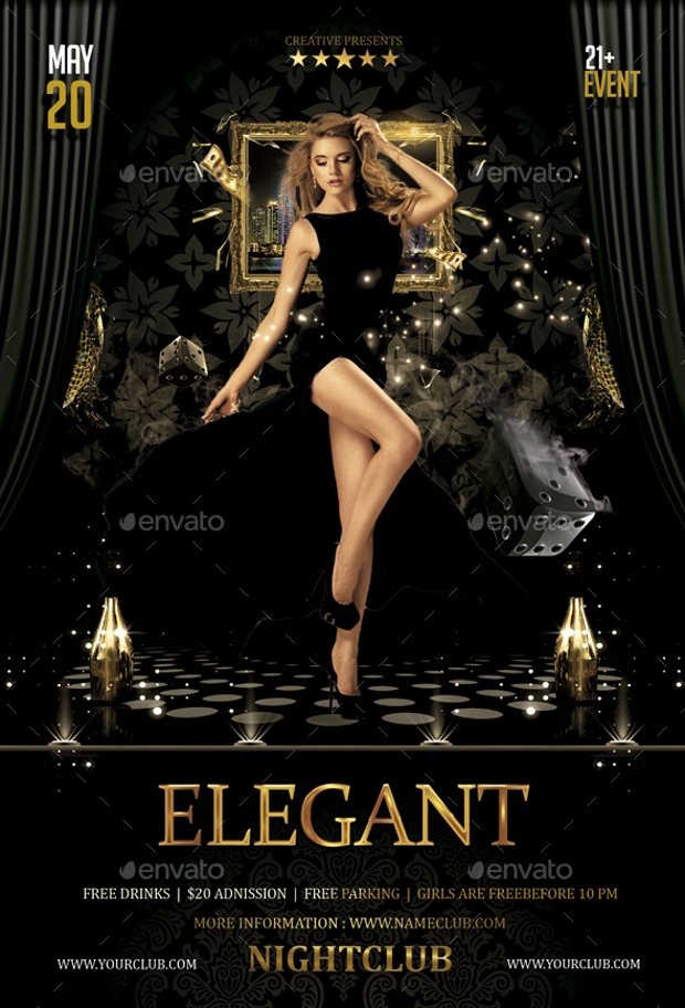Excellent Elegant Flyer