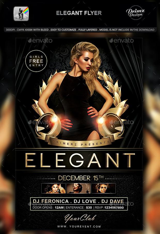 elegant flyer