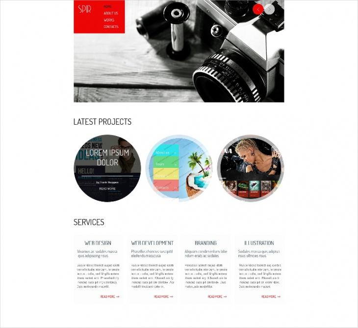 HTML5 Portfolio Theme