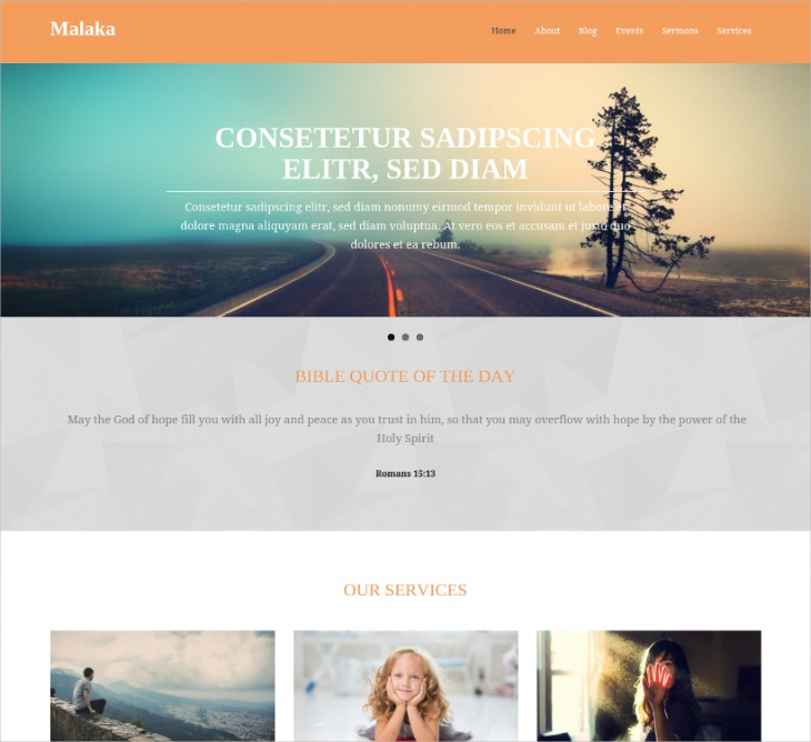 wordpress church theme