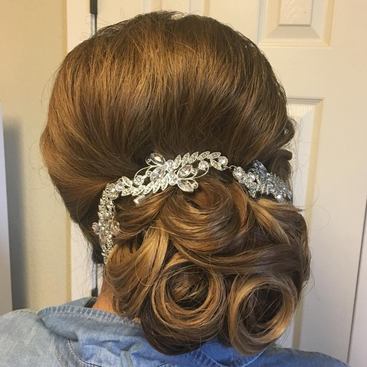 20+ Wedding updo Haircut Ideas, Designs | Hairstyles | Design ...