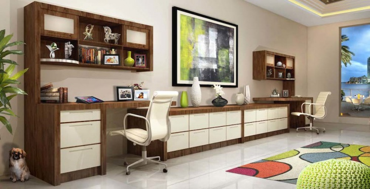 modern office gives elegant look