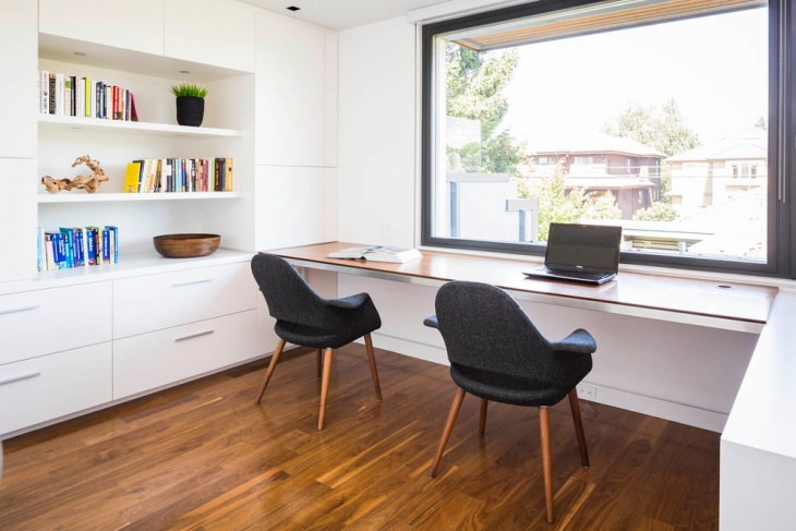 simple and elegant home office plans