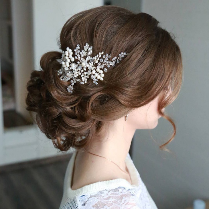 20 wedding updo haircut ideas designs hairstyles design attractive wedding updo hairstyle junglespirit Images