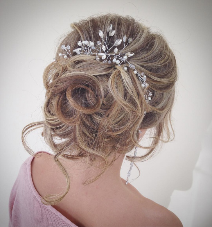 Hairstyles For Short Hair Bridesmaid