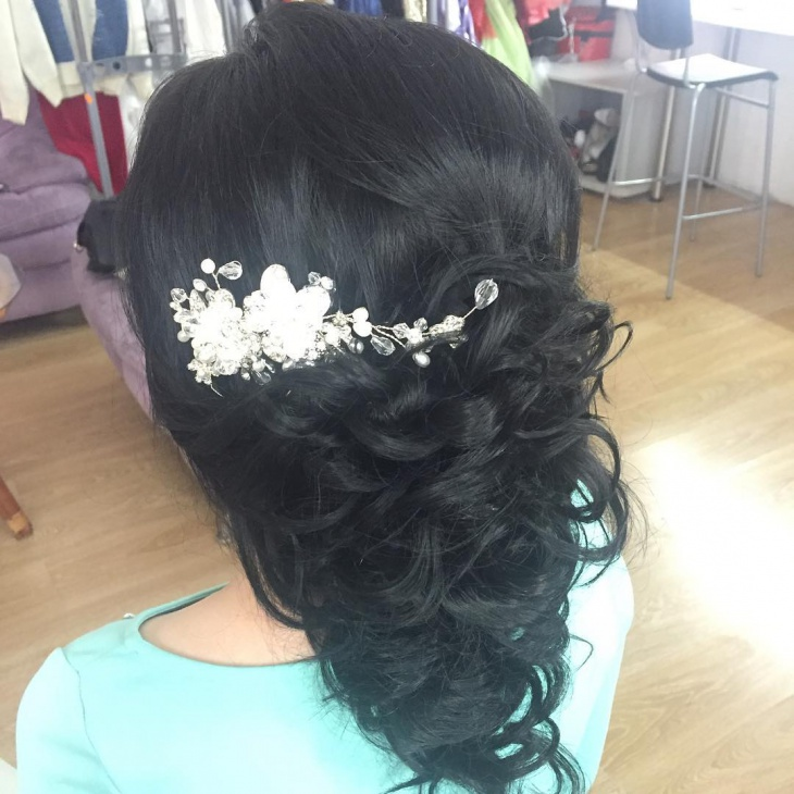 Wedding Hairstyle for Black Hair