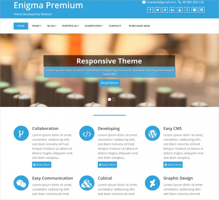 enigma multipurpose responsive theme