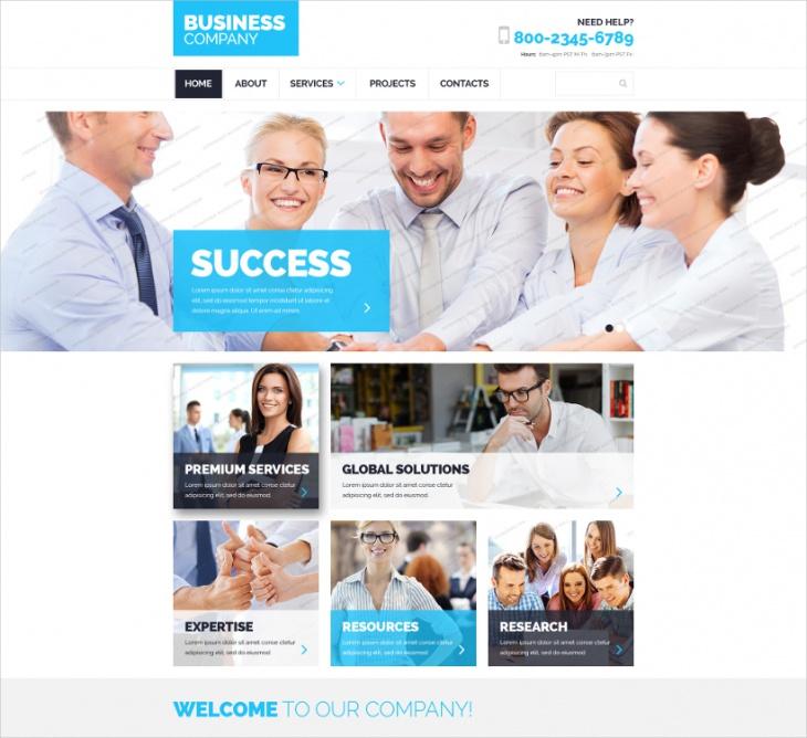 HTML5 Responsive Corprate Theme