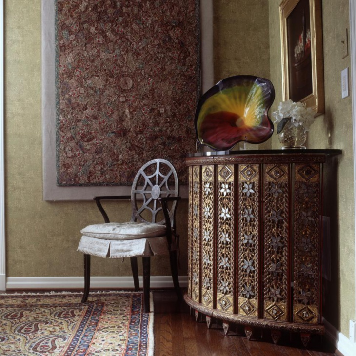 traditional antique foyer