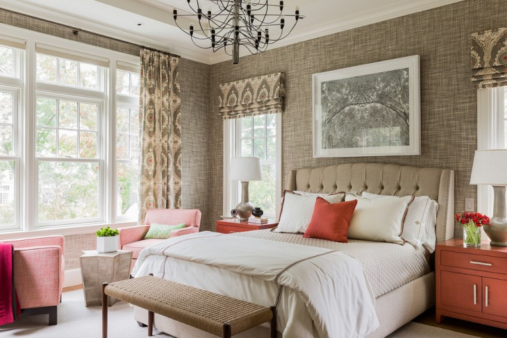 Fancy Neutral Bedroom Design Idea