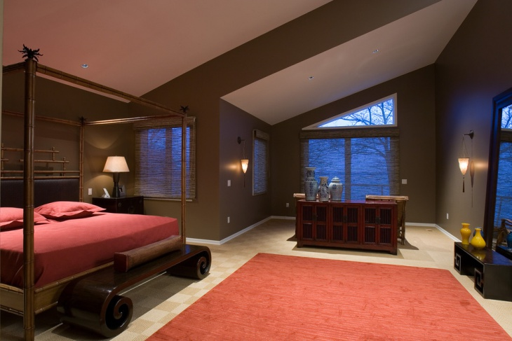 awesome earth tone touch bedroom design