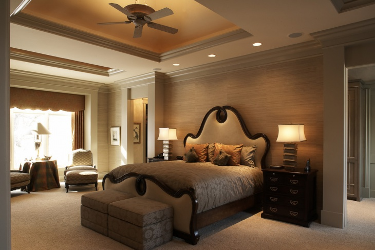 Elegant Palette Bedroom Design