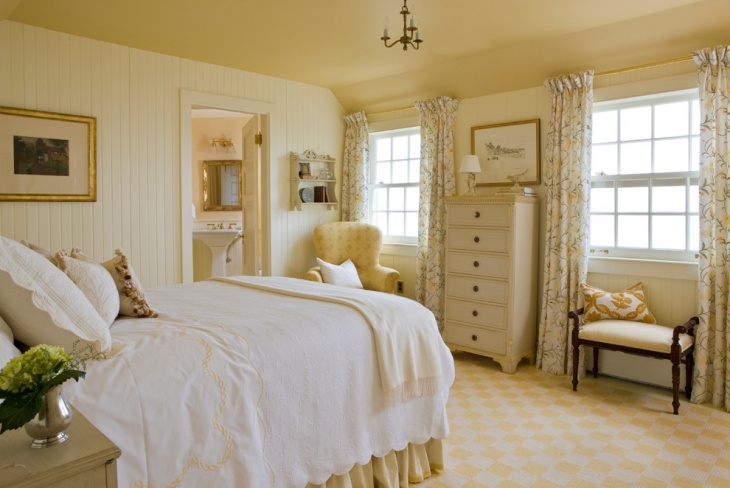 gorgeous bedroom design with earth tone color