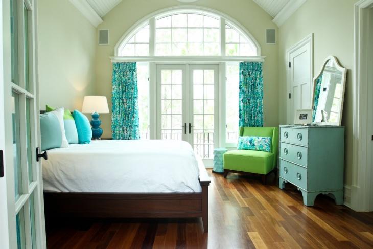 girls palette bedroom design idea