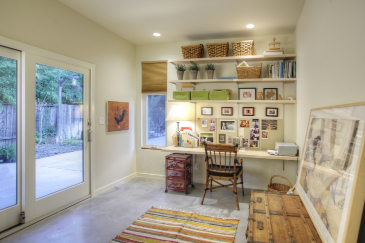 Trendy Versatile Home Office Idea