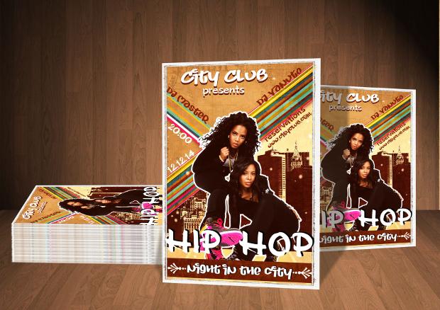 City Hip Hop Flyer Design