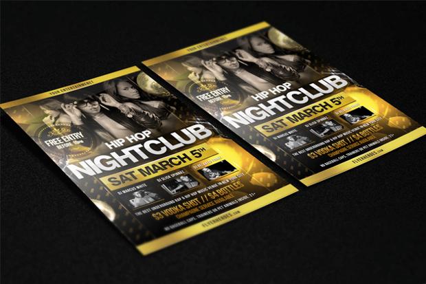 Night Club Hip Hop Flyer