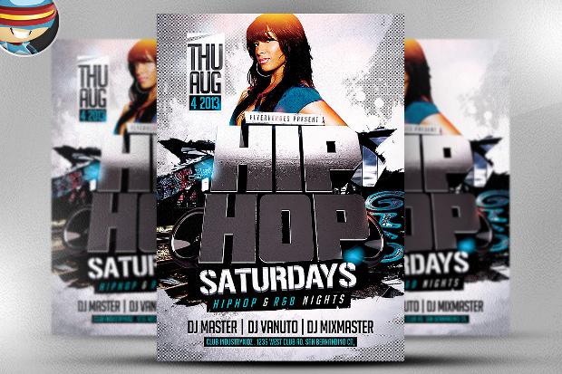 Hip Hop PSD Flyer