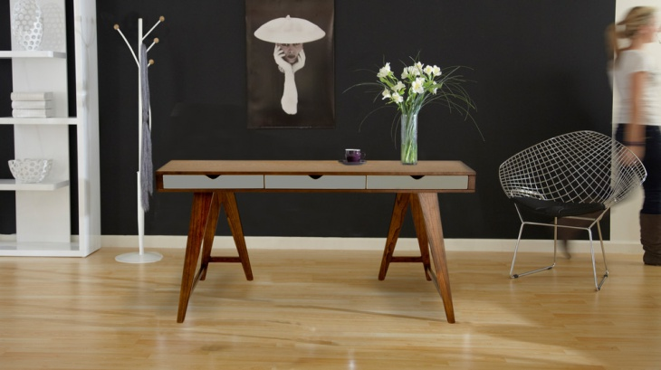 Modern Home Office with Daniel Desk Furniture