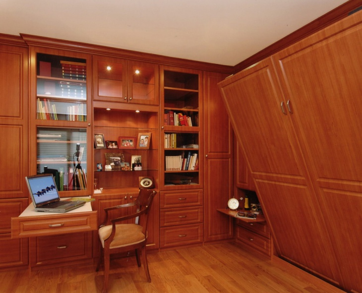 Vintage Style Home Office Idea