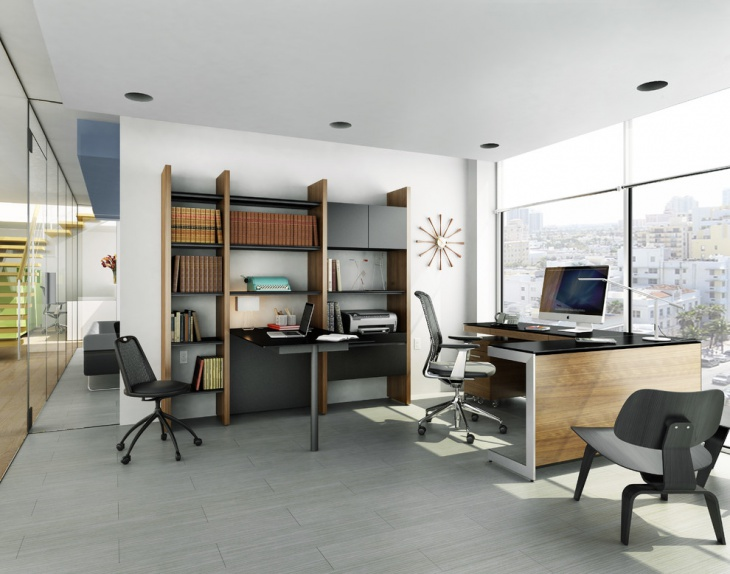 Ultra Modern Home Office Design