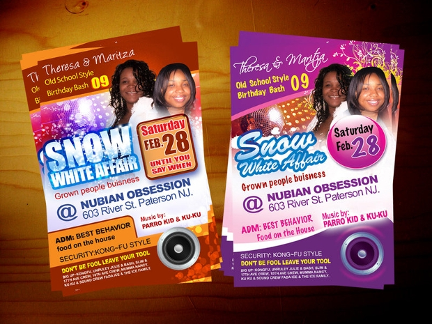 Birthday Flyer for Party