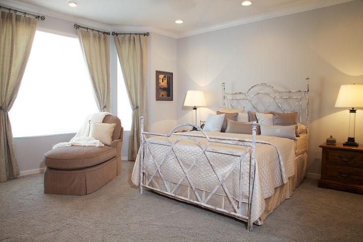 sophisticated versatile bedroom design