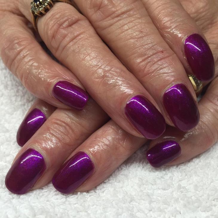 purple nail design ideas