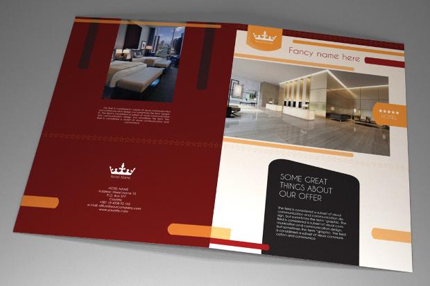 Hotel brochure design gallery for Hotel brochure design