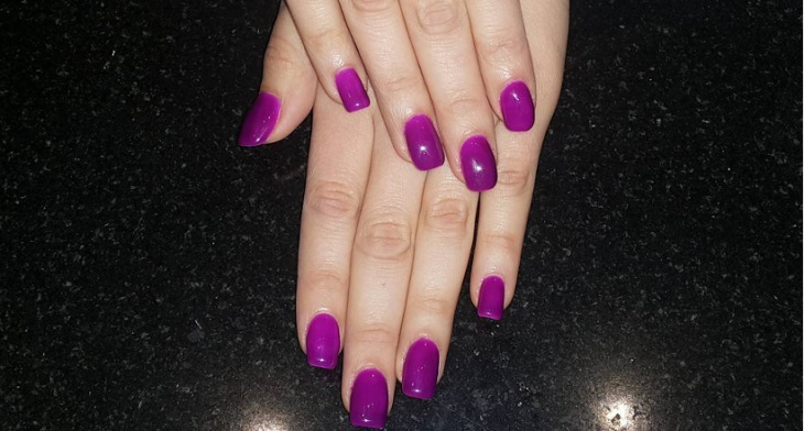 20 Purple Nail Art Designs Ideas Design Trends Premium Psd
